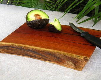 Natural Edge Salvaged Texas Mesquite Wood - Cutting Board - Serving/Cheese Tray - Chopping Block - Home Decor - Can be personalized