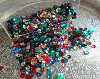 Colorful Sequins    Assorted Colors   Crafts  Embellishments