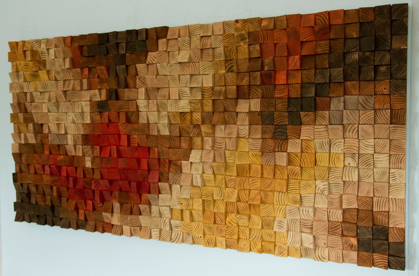 Large Wooden Wall Art large rustic wood wall art, wood wall sculpture, abstract painting
