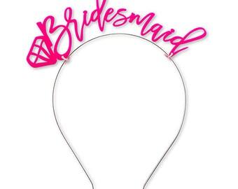 Bachelorette Party Headband Bridemaid Headband Bridal Shower Favors Bachelorette Favors Bridal Party headbands Party Favor Headband