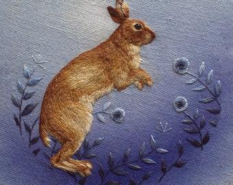 Summer Mountain Hare Print