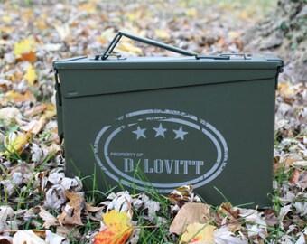 Hunting gift for men, Ammo Box