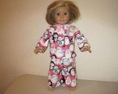 "18"" Doll pagamas to fit American Girl Dolls"