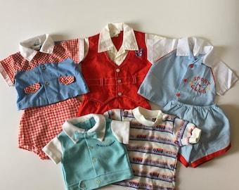 Vintage Baby Boy Lot (0/6 months)