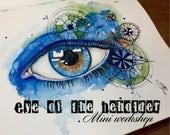 Eye of the Beholder Online Mini workshop Mixed Media Art Journaling