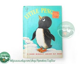 Vintage Little Penguin book Rand McNally Junior Elf Book 1960