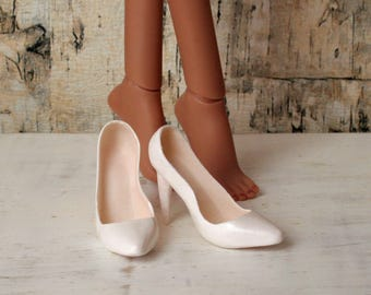 Kingdom Doll White Heels