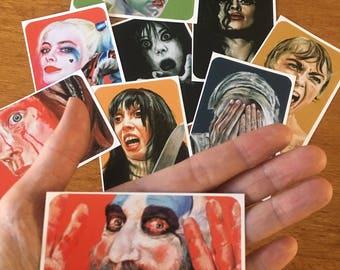 Horror Art Stickers
