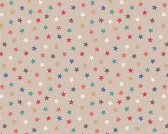 Vintage Circus - Stars Cream from Lewis and Irene