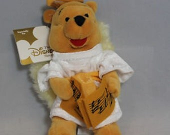 Disney Bean Bag Plush - Winnie the Pooh Angel