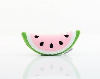 Watermelon Plush - Watermelon Toy (Green/White/Pink)