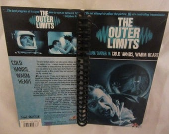 "The Outer Limits ""Cold Hands, Warm Heart"" VHS Tape Box Notebook"