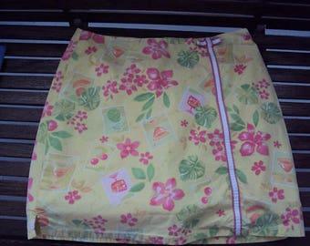 Tahiti Reef Skort Skirt 12P Tropical Vibe