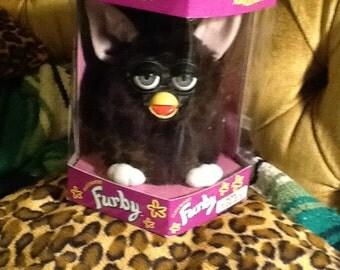 Original Furby 70-800 unopened rare Witches Cat black