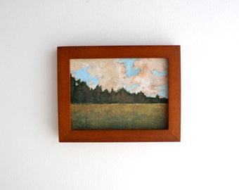 Framed Field Painting