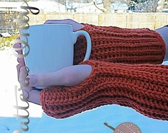Fingerless Sweater Glove Pattern - Pattern Only