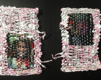 The Wolf, Paper and Photo Weaving
