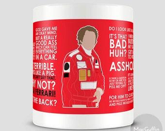 Rush Niki Lauda mug