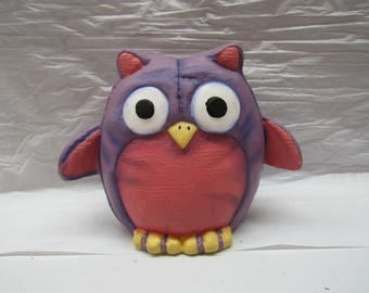 Ceramic Painted Owls Sold Separately