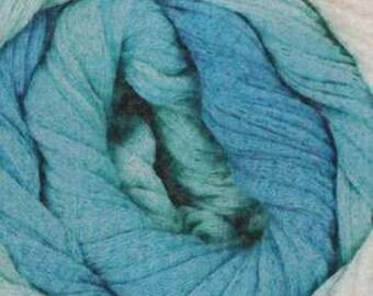 On Line Linie 346 Arona Batik - 100% Cotton - 251 yds. - worsted weight - Seafoam