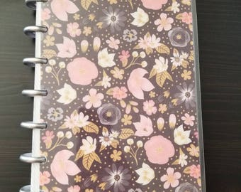 Bold Floral Happy Planner Cover - Mini