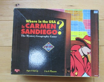 Where in the World is Carmen SanDiego? The Mystery Game