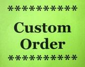 CUSTOM ORDER -- Cere's Braid Listellos