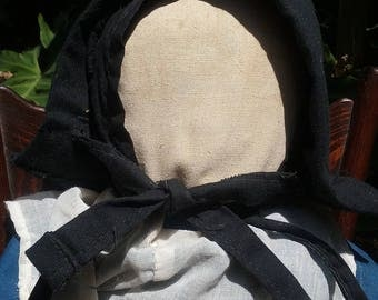 "Antique AMISH DOLL Cloth 23"" Large Handmade No Face circa 1900 Faceless"