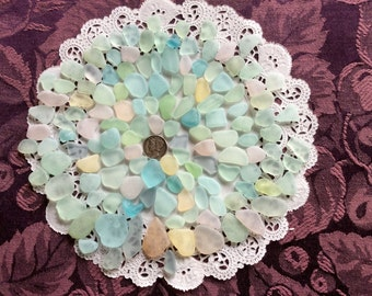 FREE Shipping Rough Pastel & UV small, medium Large Sea Glass  RP-F8-Z