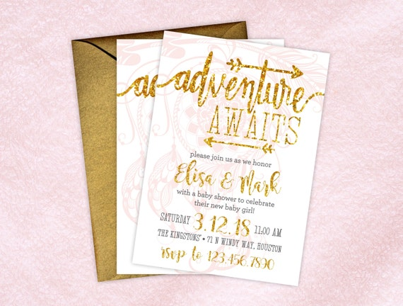 baby shower invitations boho baby shower invitations printed