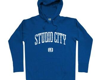 Studio City Los Angeles Hoodie - Men S M L XL 2x 3x - Gift For Men, Gift for Her, Hoody, Sweatshirt, Studio City Hoodie, LA, Tv Fan, Film
