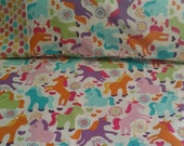 Unicorn Baby Toddler Bedding Fitted sheet with standard pillowcase set