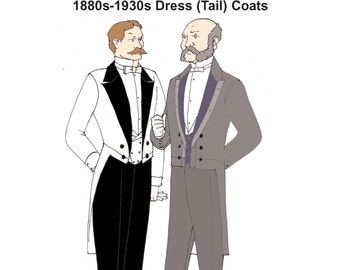RH921 – 1880s-1930s Dress Coat or Tailcoat