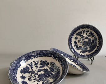 Blue Willow Bowls Set of Four