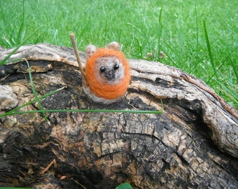 Small Needle Felted Ewok
