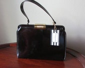 Vintage Garay Patent Leather Handbag