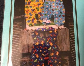 Overall Bib , sewing pattern, PEX001, infant bibs