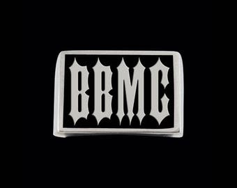 Stainless Steel BBMC Letter Ring - Free Re-Size/Shipping
