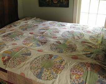 Antique Quilt Top with Provenance and Appraisal