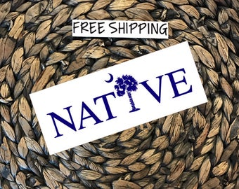 Native Vinyl Decal FREE SHIPPING