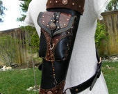 "Reserved for Scott~ Build-A-Quiver ""Back"" Quiver w/Cross Strap and Armguard set- ""Artemis"" Made to Order- by MYSTIC QUIVERS"