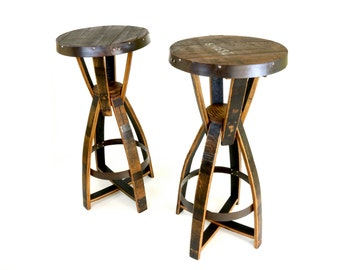 Bourbon Barrel Pub Tables