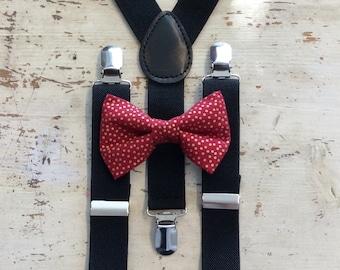 Suspender and Bow Tie Set- Suspender and Bow Tie Set, Bow Tie Set -Suspender and Bow Tie Set - Suspender and Bow Tie Set - Suspender Bow Tie