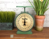 Vintage Working Way Rite Kitchen Household Scale