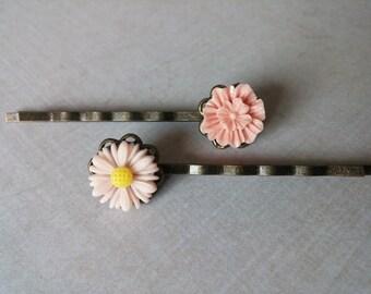 Flower Hair Pins