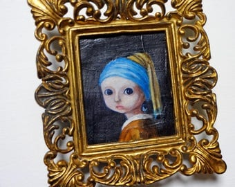 Original miniature Painting