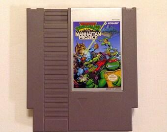 Teenage Mutant Ninja Turtles Manhattan Project NES