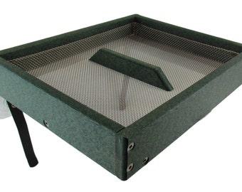 JCs Wildlife Easy Clean Green Poly Window-Mount Platform Bird Feeder USA Made