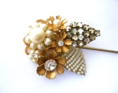 "Miriam Haskell ""STYLE"" Stick Pin c 1960s"