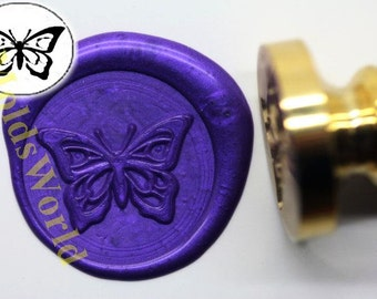 S1055 Butterfly Wax Seal Stamp , Sealing wax stamp, wax stamp, sealing stamp